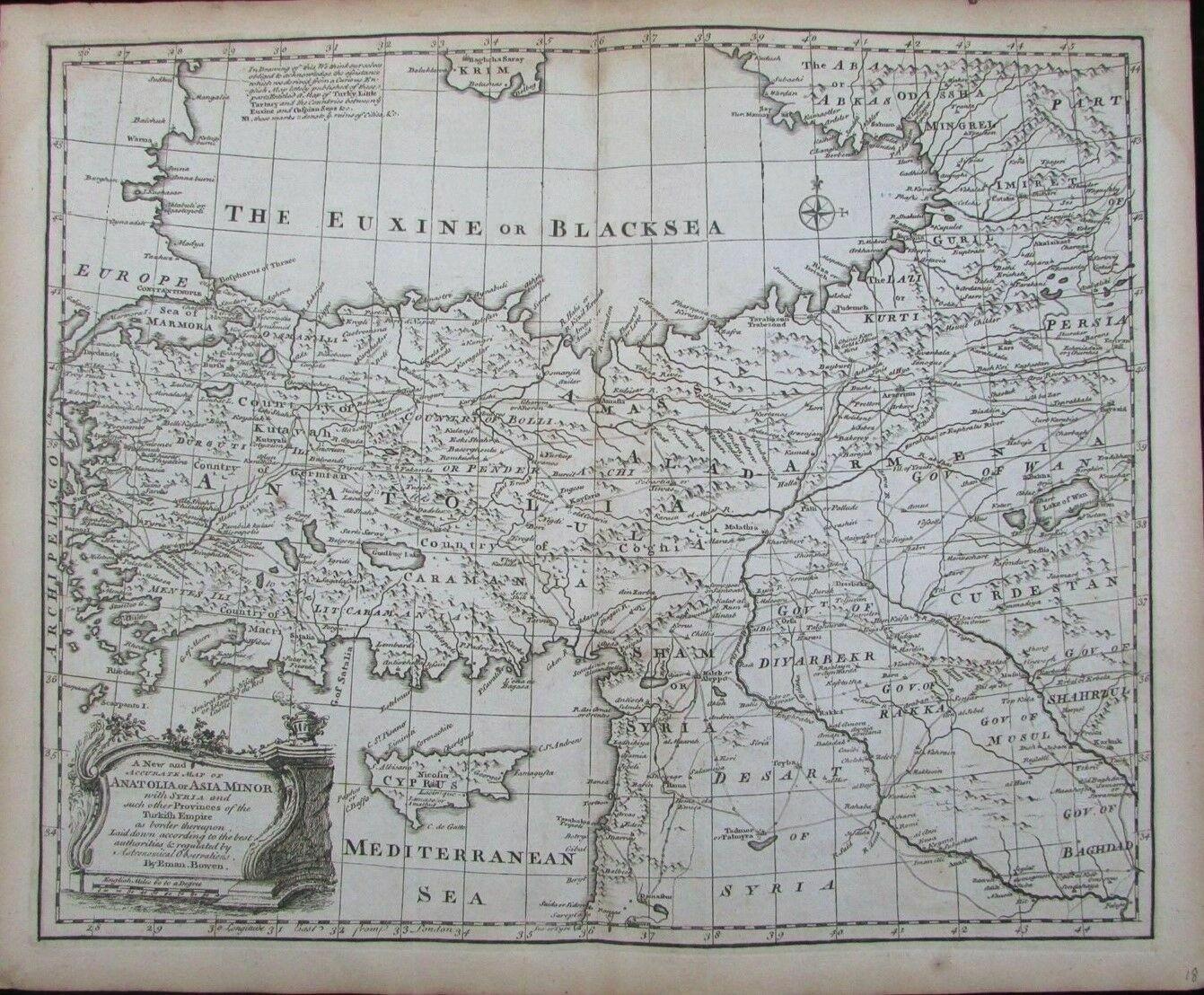 Map Of Asia Minor 60 Ad.Kurdistan Maps