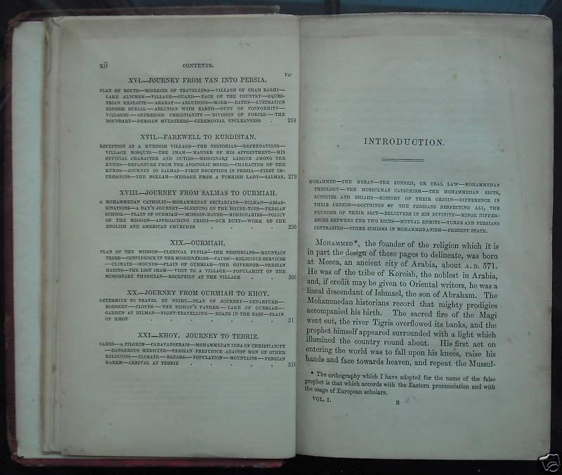 Horatio Southgate 1812 1894 Kurdistan Persia And