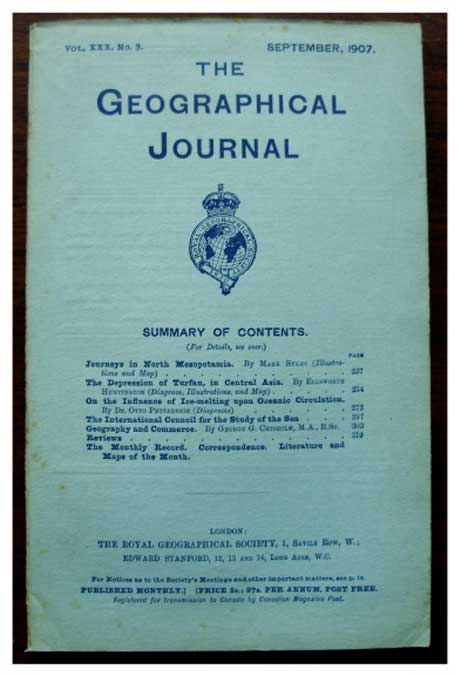The Geographical Journal, 1907...